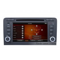 Android 7 Inch Car DVD Player for Audi A3 (Touchscreen,GPS,TV,Ipod, 3G,Wifi)