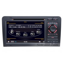 Audi A3 DVD player GPS navigation system with Radio TV Bluetooth