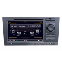 Audi A6 DVD player GPS navigation system with Radio TV Bluetooth