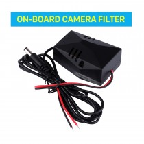 Car Backup Rearview Video Power Wire Harness Adapter ON-BOARD CAMERA FILTER Capacitor