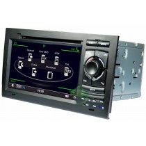 Audi A4 DVD player GPS navigation system with Radio TV Bluetooth