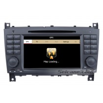 Car DVD player for Mercedes-Benz CLK W209 with GPS Radio TV Bluetooth