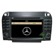 Car DVD player for Mercedes-Benz SL-R230 with GPS Radio TV Bluetooth