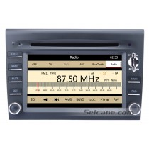 Car DVD player for Porsche BOXSTER with GPS Radio TV Bluetooth