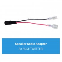 Car Stereo Wiring Harness Speaker Cable Plug Adapter for AUDI (TWEETER)