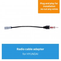 Hot Auto Car Radio Antenna Cable Plug Adapter for HYUNDAI