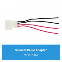 4 Pin Wiring Harness Adapter Speaker Cable for TOYOTA