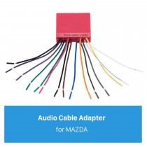 Audio Cable Sound Wiring Harness Adapter for MAZDA Family(OLD)/Mazda 6/Mazda 3/MAZDA PREMACY(OLD)/Mazda 323