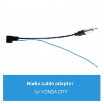 Car Stereo Radio Antenna Cable Plug Adapter for HONDA CITY
