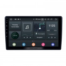 Android 10.0 GPS Navigation Radio for Chevy Chevrolet Pontiac Saturn 2005-2010 With 10.1 inch 2.5D IPS Touchscreen Bluetooth support Carplay DSP