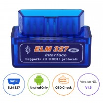 Newest Super Mini V1.5 ELM327 OBD OBD2  ELM327 Bluetooth Interface Auto Car Scanner Diagnostic Tool Special for Seicane
