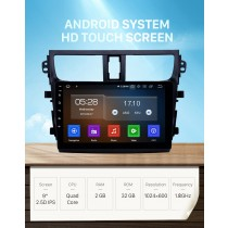 9 inch Android 11.0 GPS Navigation Radio for 2015-2018 Suzuki Celerio with HD Touchscreen Carplay AUX Bluetooth support TPMS
