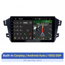9 Inch HD Touchscreen for Geely King GX7 GPS Navigation System Bluetooth Car Radio Car Stereo System Support FM AM RDS Radio