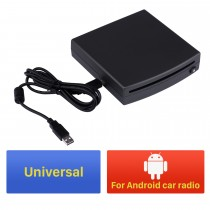 HD Universal 1 din DVD Player for Android car radio with USB connection