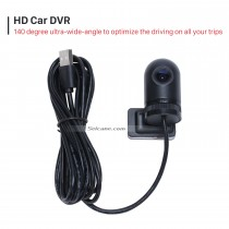 Seicane HD USB DVR Camera Recording video  with Supporting the android car dvd