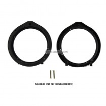 Hollow Auto Car Black Ring Bracket Speaker Mat for Honda