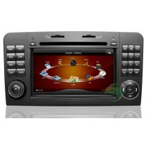 In-Dash Car DVD Gps navigation Stereo for  Mercedes-Benz GL Class X164 with Radio TV Bluetooth Ipod