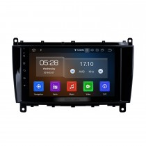 8 inch Android 10.0 GPS Navigation Radio for Mercedes Benz CLK W209 2006-2012 Benz CLS W219 2004-2008 Bluetooth HD Touchscreen Carplay support 1080P