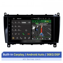 8 Inch HD Touchscreen for Mercedes Benz CLK W209 1998-2012 Benz CLS W219 2004-2008 Auto Stereo Car Stereo System with Bluetooth Support AHD Camera
