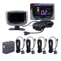 Seicane Wireless LCD Parking Sensor+Car Parking assistance+Car LCD Parking Reverse Radar with 4 Sensors New Arrival