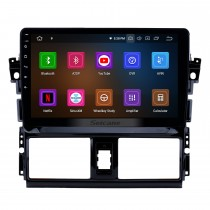 10.1 inch Android 10.0 2013 2014 2015 2016 Toyota Vios GPS Radio with 1024*600 Touchscreen Bluetooth Music 4G WiFi Backup Camera Mirror Link OBD2 Steering Wheel Control