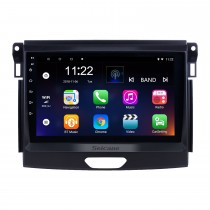 Android 10.0 9 inch Touchscreen GPS Navigation Radio for 2015 Ford Ranger with USB WIFI Bluetooth Music AUX support Carplay Digital TV TPMS SWC