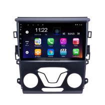 Android 10.0 9 inch All-in-one 2012 2013 2014 Ford Mondeo Aftermarket GPS Navigation Car Audio System 3G WiFi Bluetooth Radio Tuner TV AUX support DVR Reverse Camera Steering Wheel Control