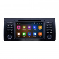 7 inch Android 10.0 GPS Navigation Radio for 1996-2003 BMW 5 Series E39 with USB AUX Bluetooth Wifi HD Touchscreen Carplay support TPMS Digital TV