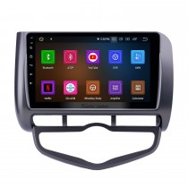 Android 10.0 9 inch GPS Navigation Radio for 2006 Honda Jazz City Auto AC RHD with HD Touchscreen Carplay AUX Bluetooth support DVR TPMS