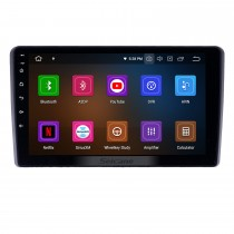 Android 10.0 9 inch GPS Navigation Radio for 2015 Mahindra Marazzo with HD Touchscreen Carplay Bluetooth WIFI support TPMS Digital TV