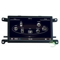 aftermarket Audi A4 Head Unit Car stereo GPS Navigation System with DVD USB SD Ipod CANBUS AUX