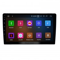 10.1 inch Car Radio Android 11.0 Universal GPS Navigation Sytem with Bluetooth HD Touchscreen WIFI support AUX  4G DVR 1080P DAB TPMS Backup Camera Mirror Link