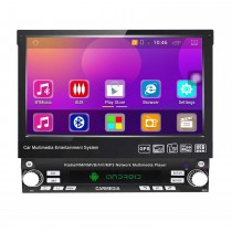 7 inch Android 10.0 Universal One DIN Car Radio GPS Navigation Multimedia Player with Bluetooth WIFI Music Support Mirror Link SWC DVR 1080P Video