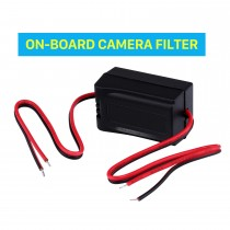 Vehicle Rearview Reverse Video Cables ON-BOARD CAMERA FILTER Adapter Capacitor