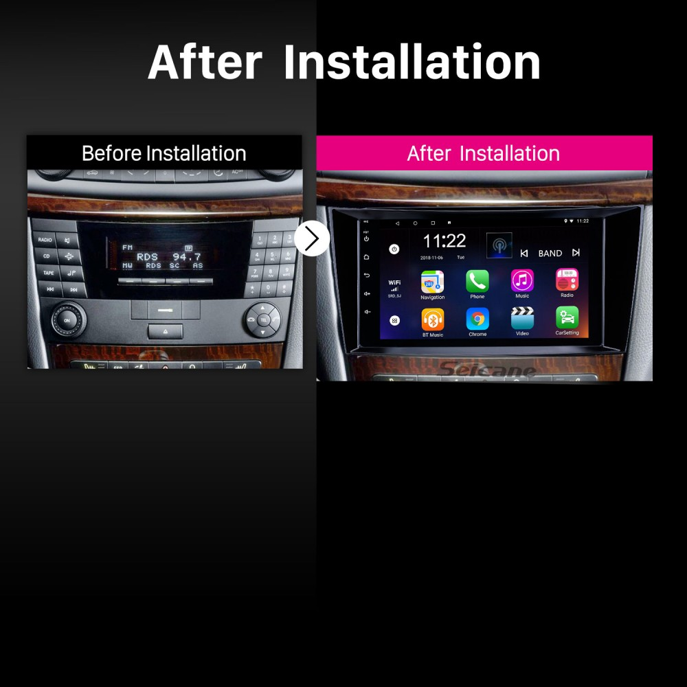 8 inch Android 8 1 HD Touchscreen GPS Navigation Radio for
