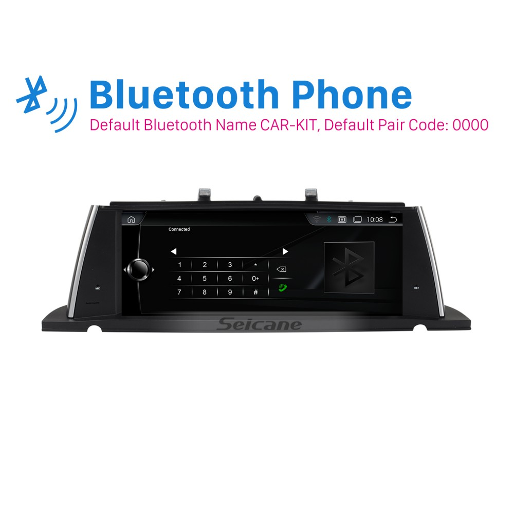 10 25 Inch Android 8 1 HD Touchscreen 2013-2017 BMW 5 Series