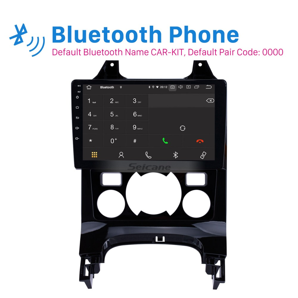 2009-2012 Peugeot 3008 9 inch Android 9 0 1024*600