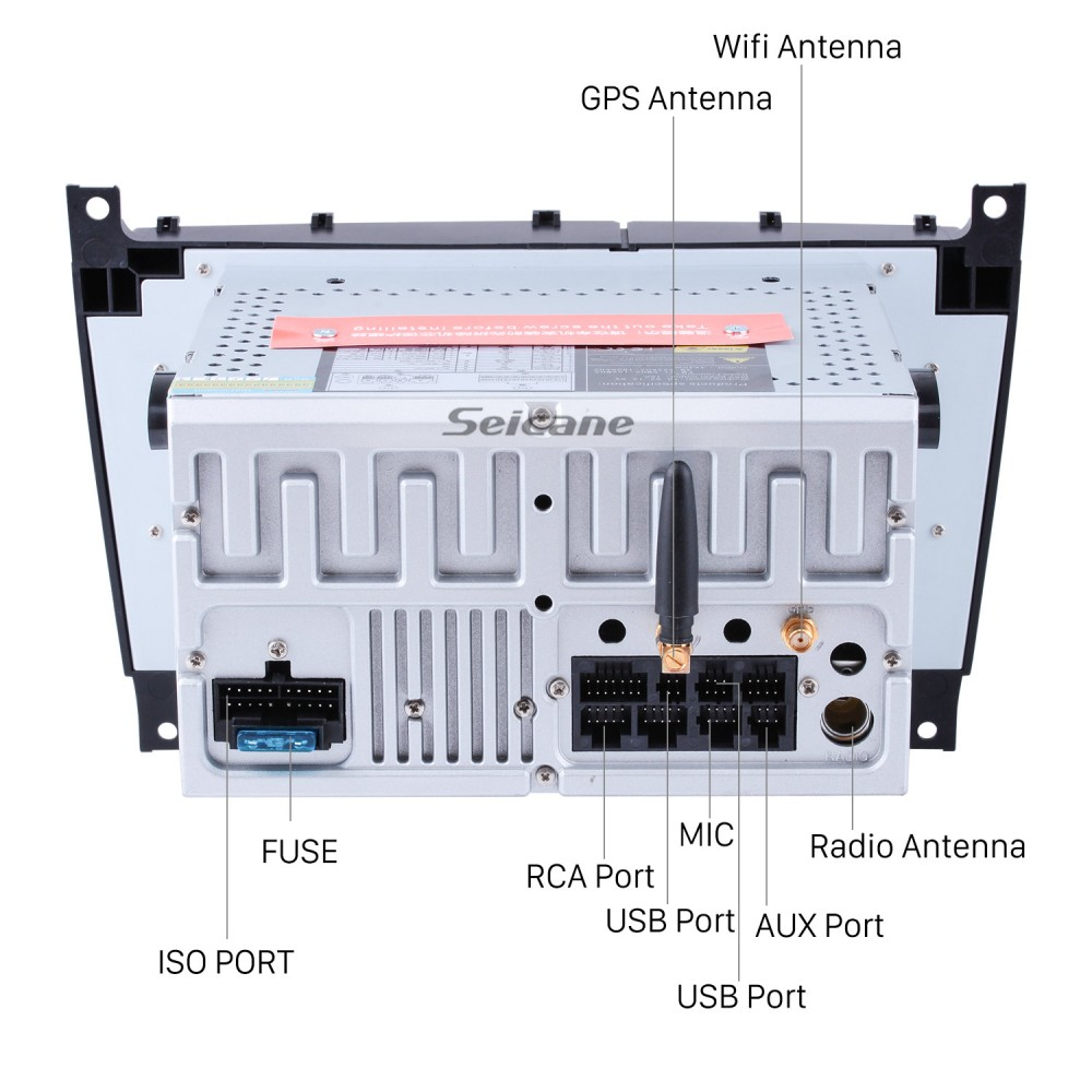 Aftermarket Radio Android 9 0 7 Inch DVD Player For 2004