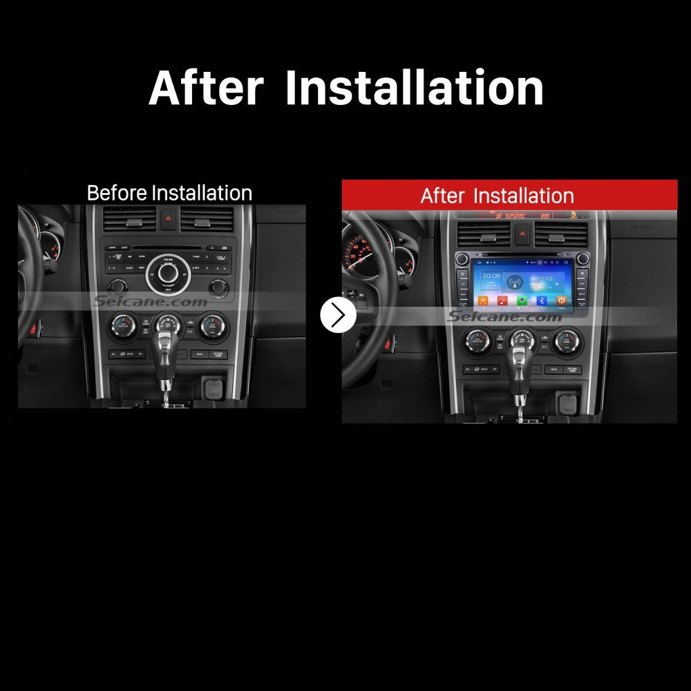 OEM Android 8 0 2007-2016 MAZDA CX-9 with Aftermarket GPS