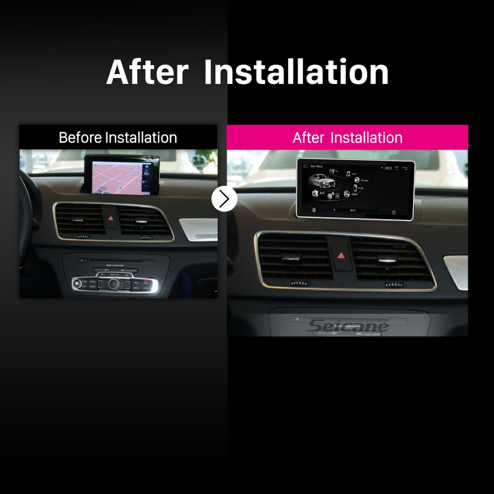 10 25 inch Android 7 1 Radio for 2009 2010 2011-2015 AUDI Q3