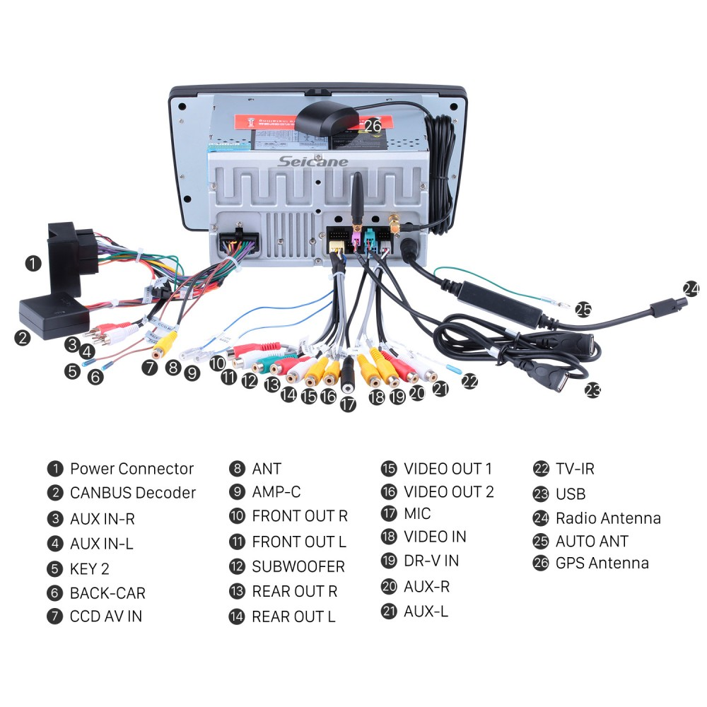 hd 1024*600 android 9.0 2009-2013 skoda octavia radio upgrade with ... skoda stream mp3 wiring diagram blaupunkt baltimore 650bd wiring diagram seicane