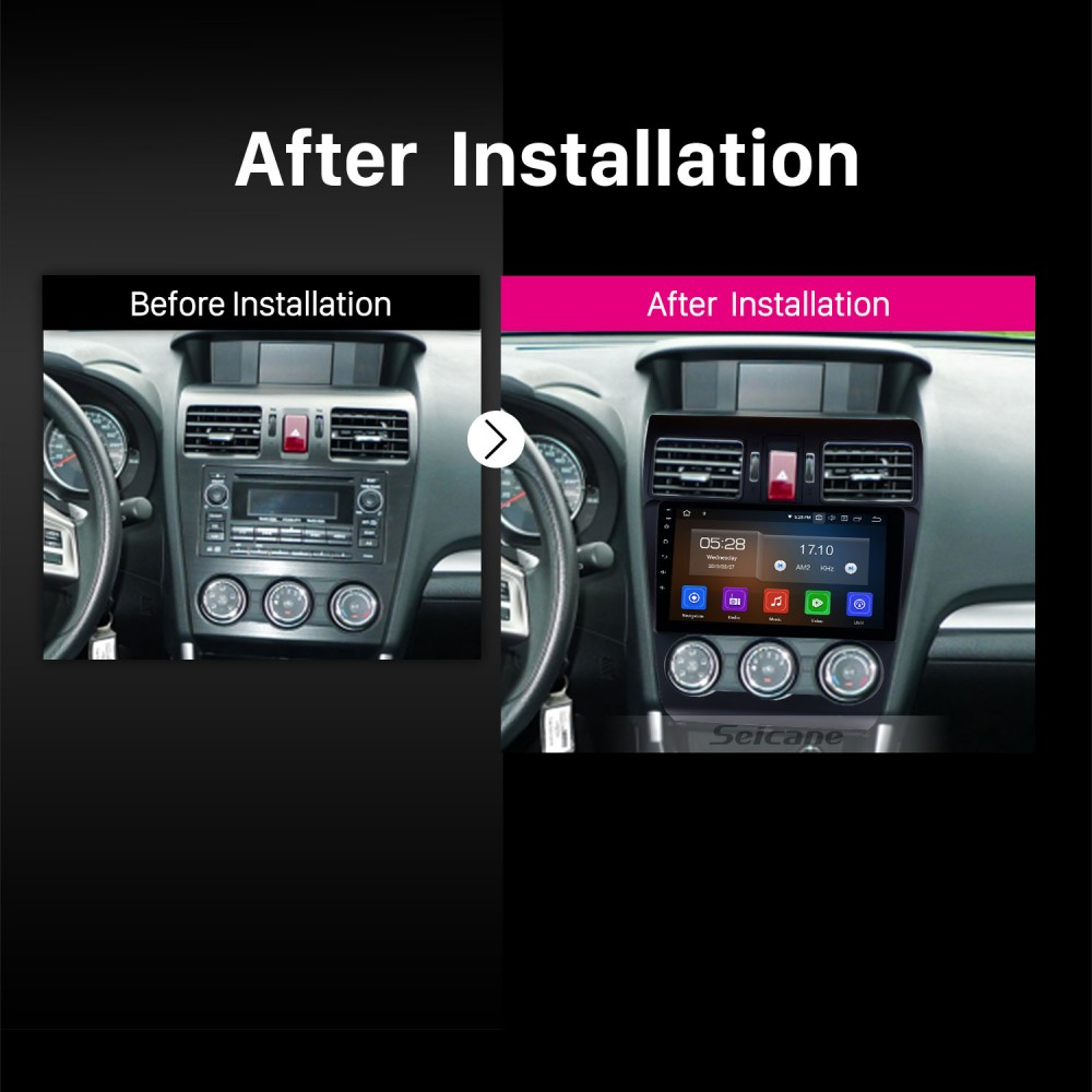 9 Inch Android 9 0 Radio GPS Navigation For 2014 2015 2016
