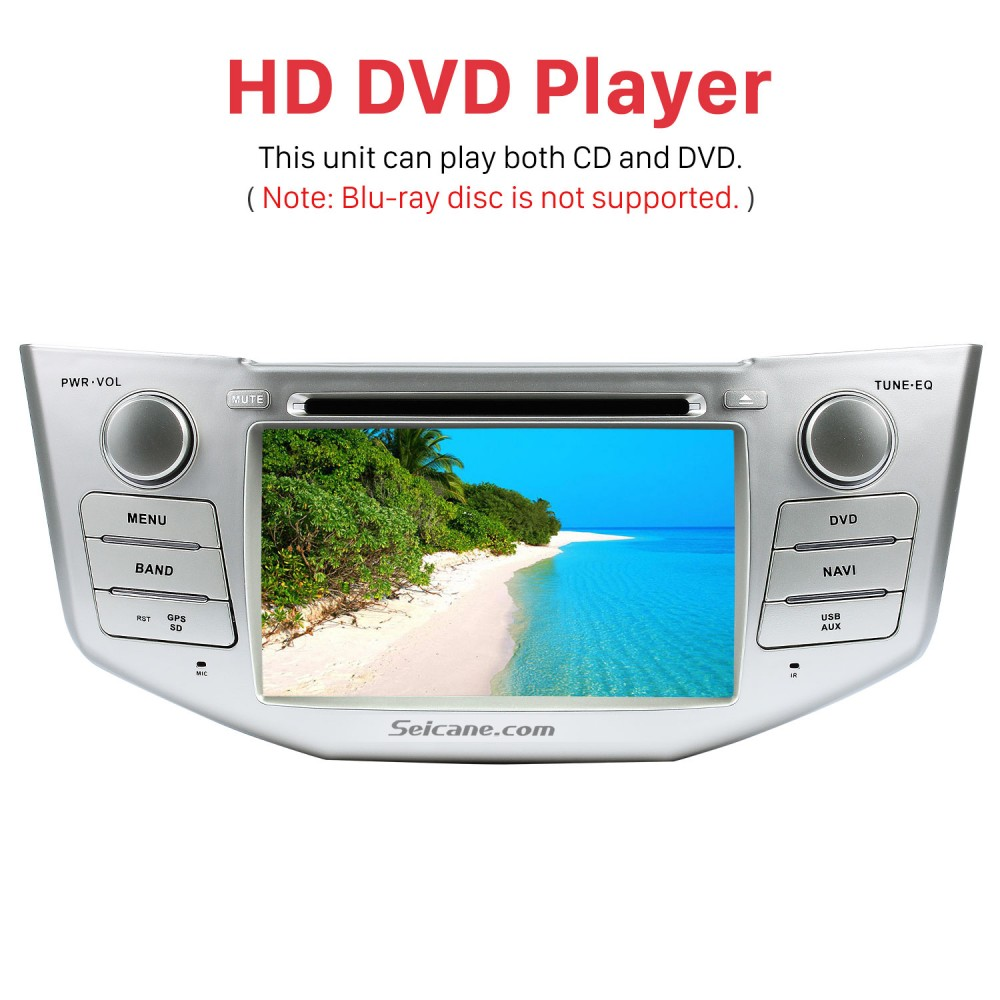 Pure Android 8 0 In Dash DVD GPS System for 2004-2012 Toyota