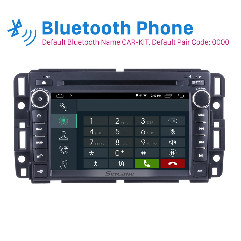 2 Din Android 9 0 Radio Head Unit for 2009 2010 2011 GMC
