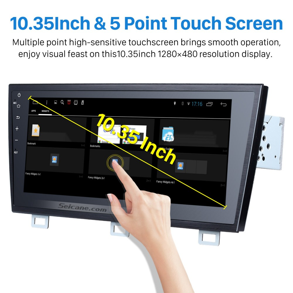 10 35 Inch Touch Screen 2015 Subaru Legacy OUTBACK Bluetooth