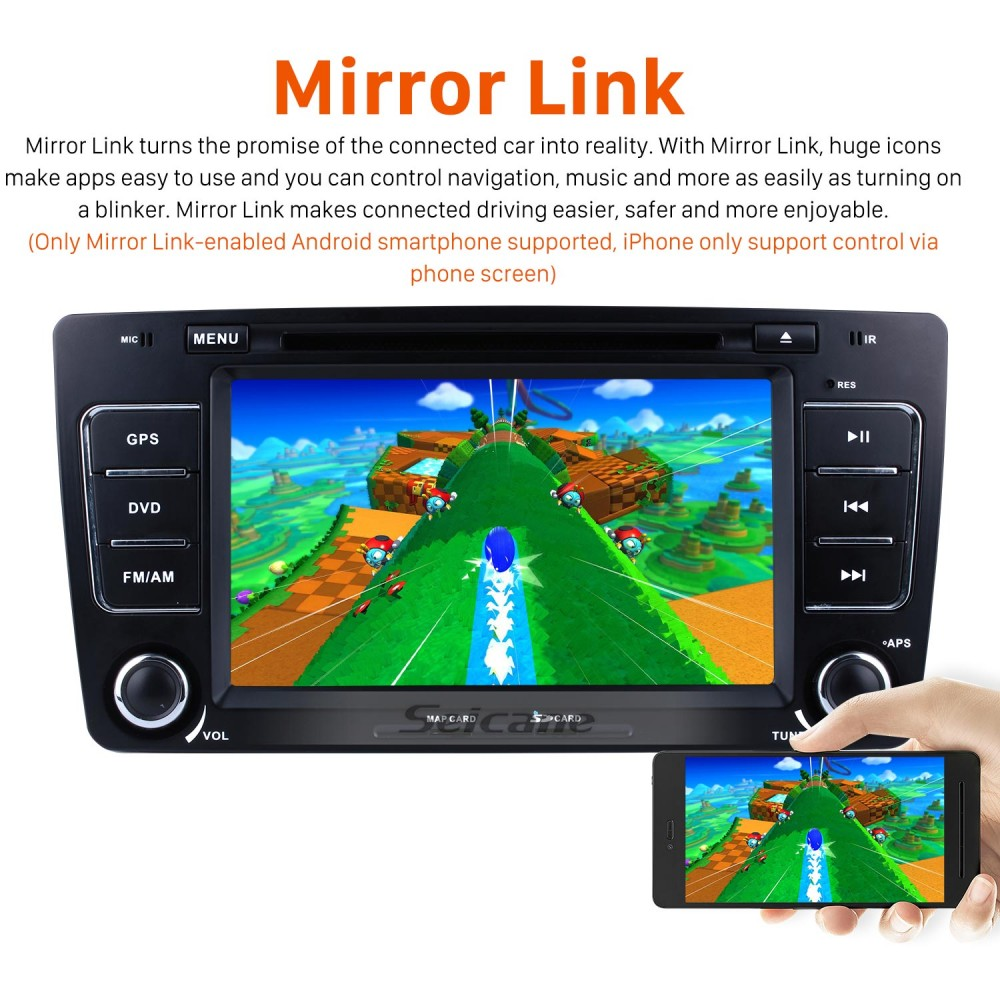 OEM Android 9 0 Multi-touch GPS Sound System Upgrade for