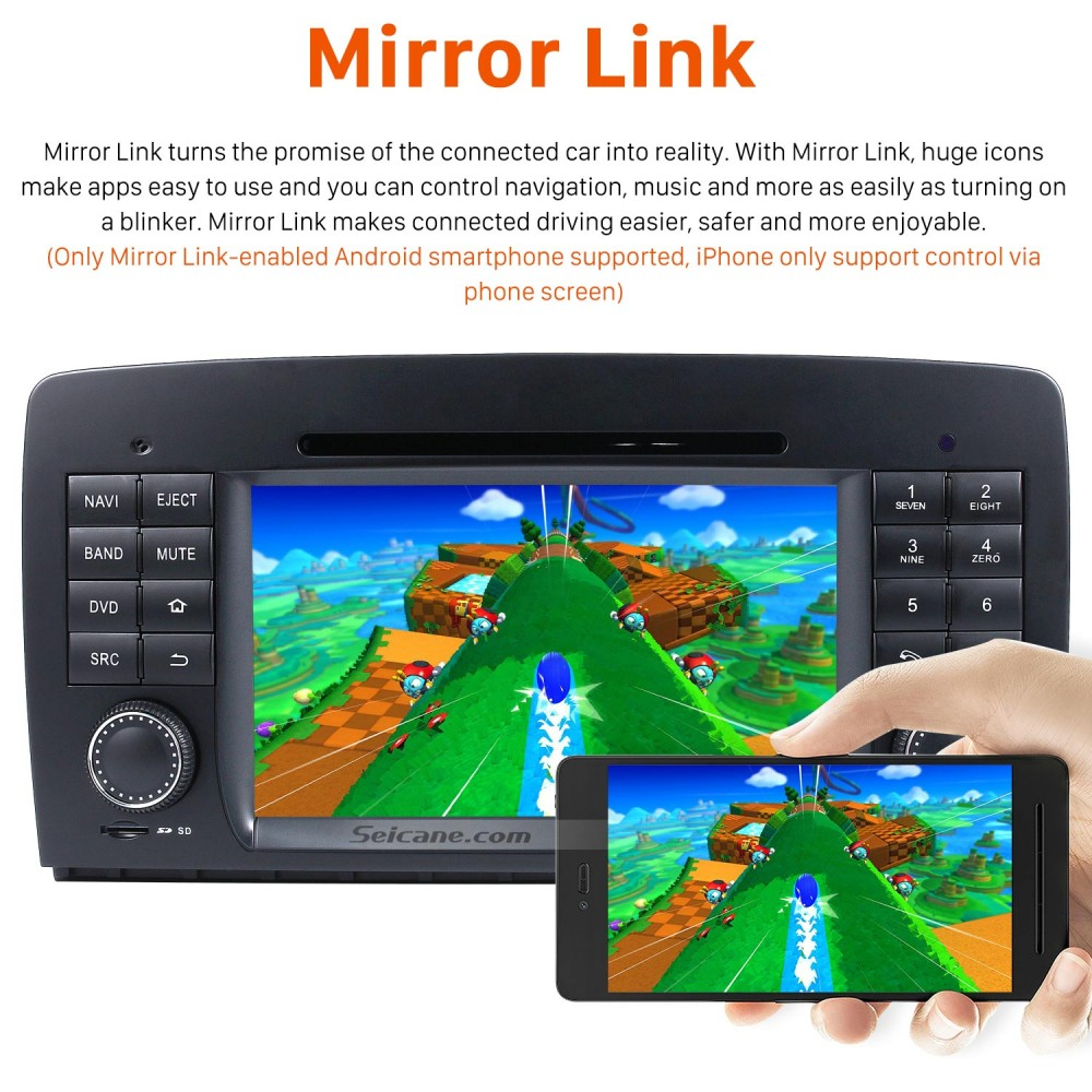 Android 8 0 GPS Navigation system for 2006-2012 Mercedes