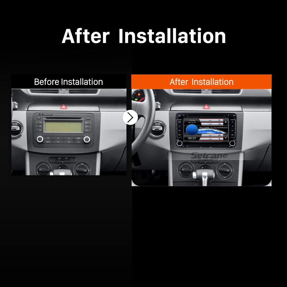 Double 2 Din DVD Player Radio GPS Navigation for 2003-2011