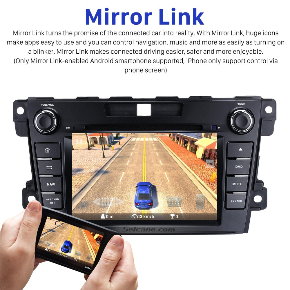 Android 8 0 HD 1024*600 Touch Screen GPS Navigation System