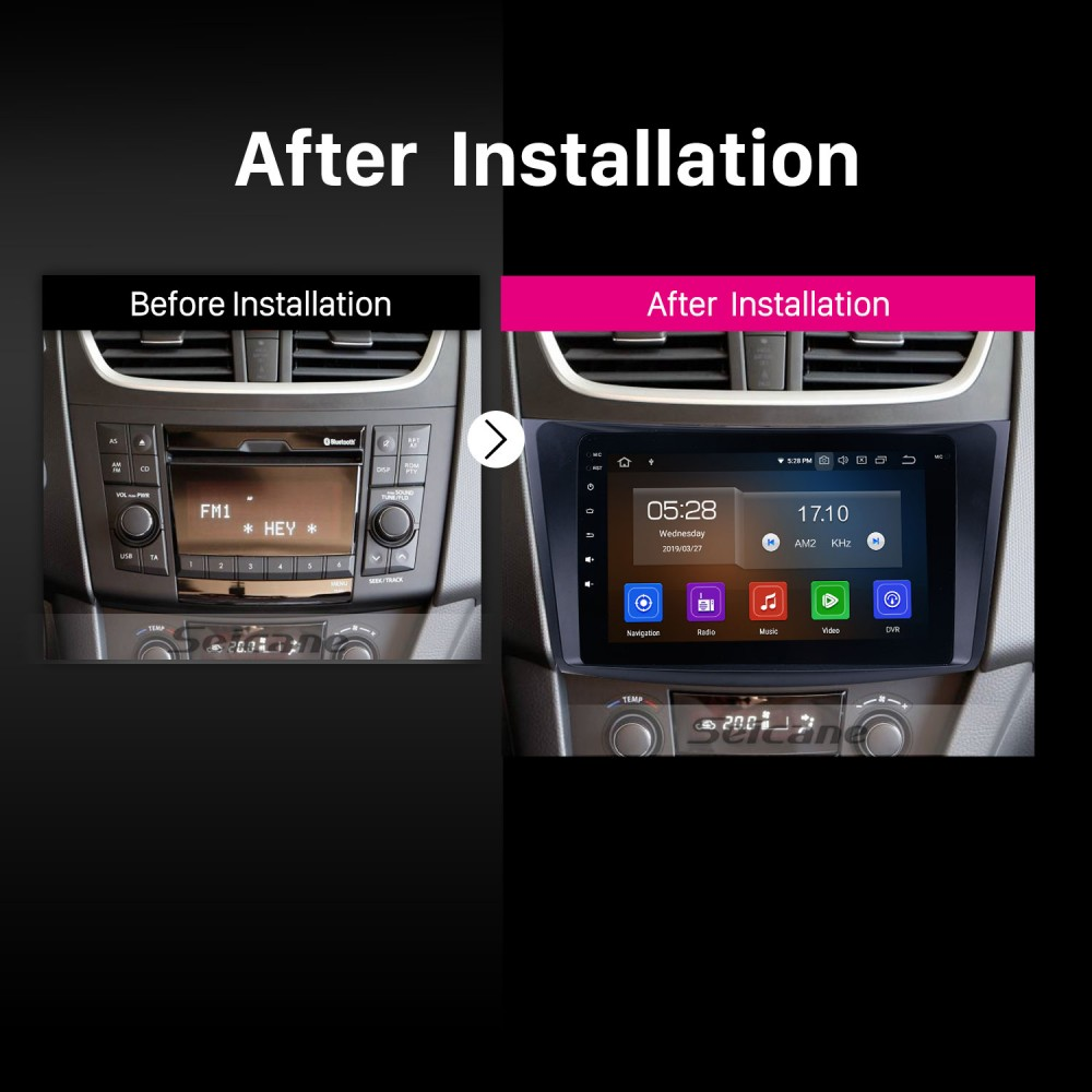 Seicane Android 9 0 Radio GPS Navigation system for 2011